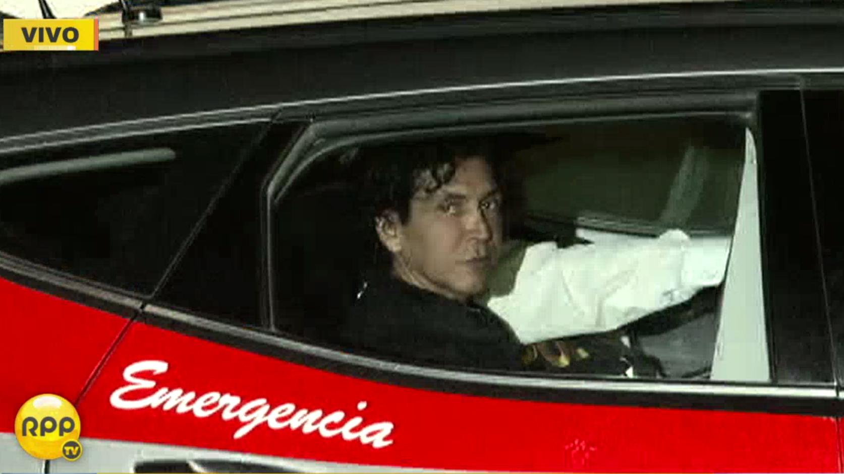 'Peter Ferrari' fue trasladado a la Dirincri tras permanecer detenido en su vivienda desde la madrugrada de este martes.