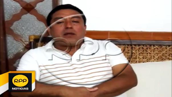Mediante un video, la autoridad denunció que sujetos lo amenazaron mostrándole armas de fuego y exigiéndoles el pago de 50 mil soles.