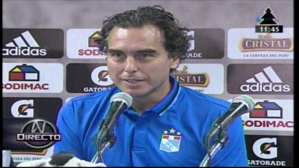 Chemo del Solar dirigió a Sporting Cristal en los años 2005 y 2006.