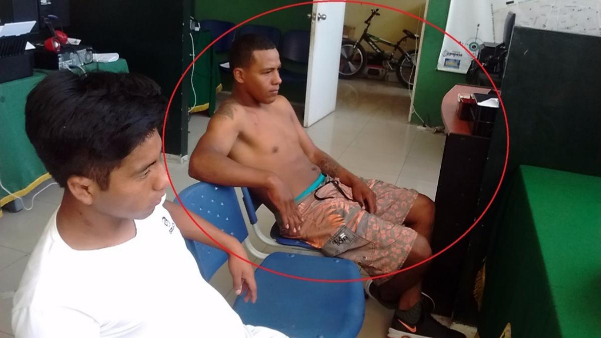 Ciudadano colombiano detenido por agresión a joven.