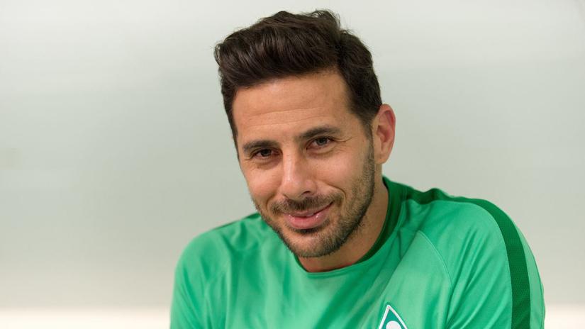Claudio Pizarro es muy querido por los hinchas del Werder Bremen.