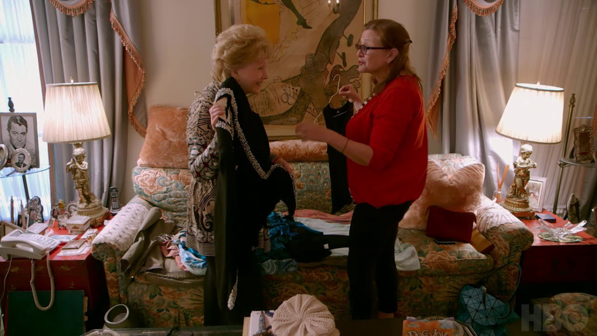 Una etapa de la vida de Carrie Fisher y Debbie Reynolds será presentada el 9 de enero en un documental.