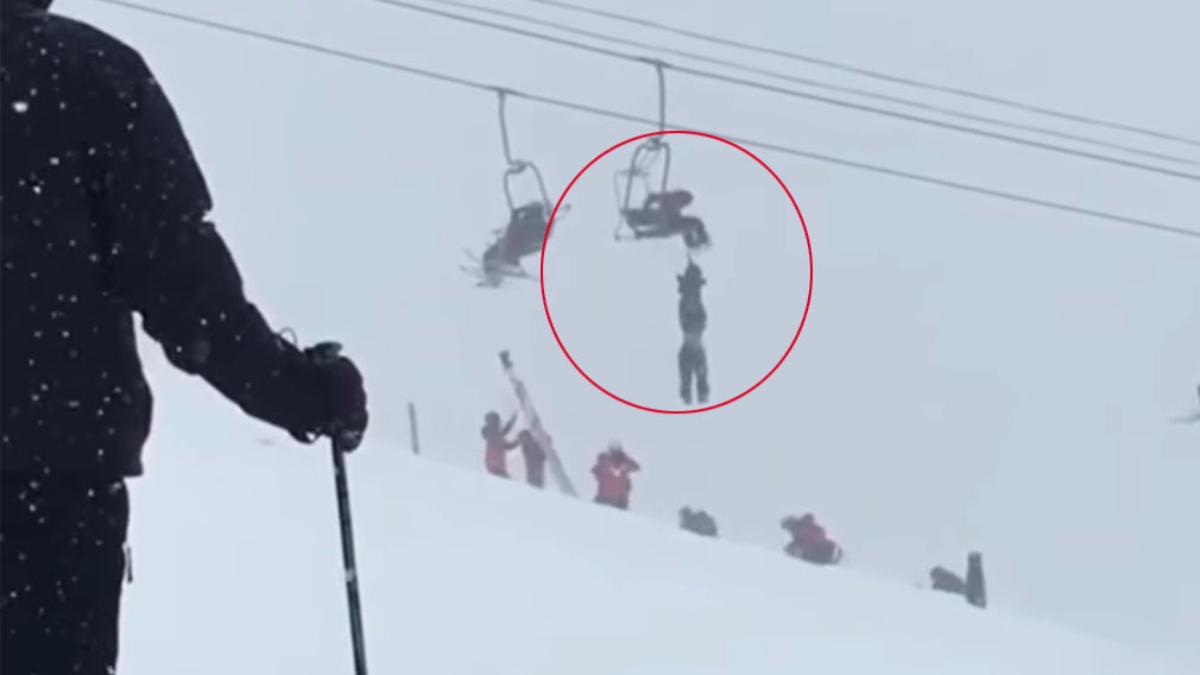 Un acto heroico salvó la vida de un hombre en el centro de esquí Arapahoe Basin, en EE.UU.