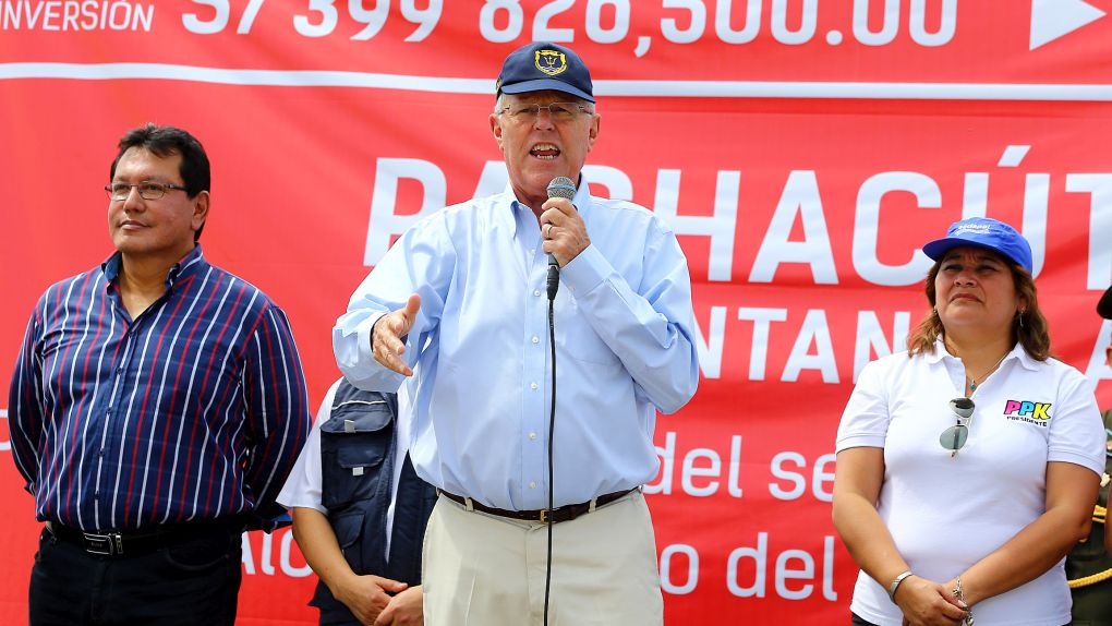 Pedro Pablo Kuczynski se comprometió a solucionar la polémica por el peaje en Puente Piedra.