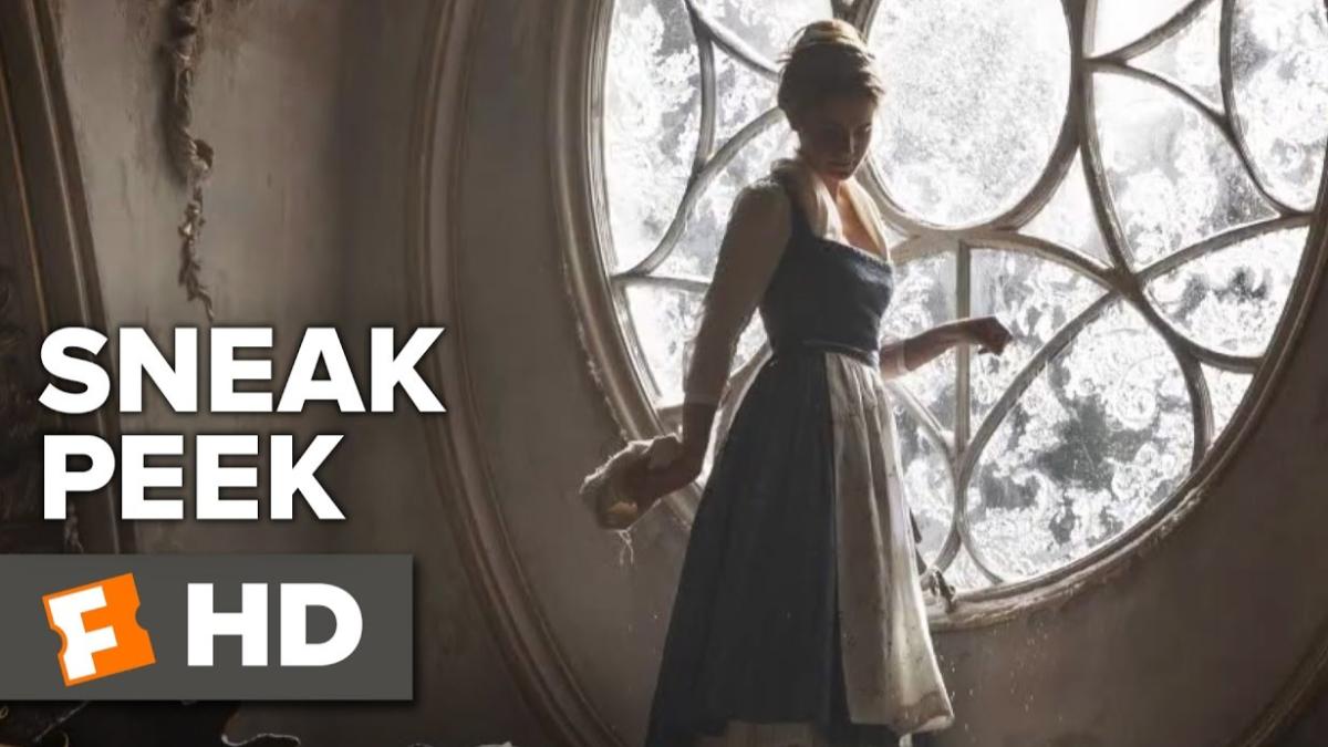Este es el primer clip musical de Emma Watson para La Bella y la Bestia