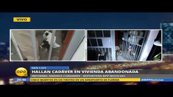 Vecinos indicaron a RPP Noticias que Ticona Cárdenas sufría de epilepsia y alteraciones mentales