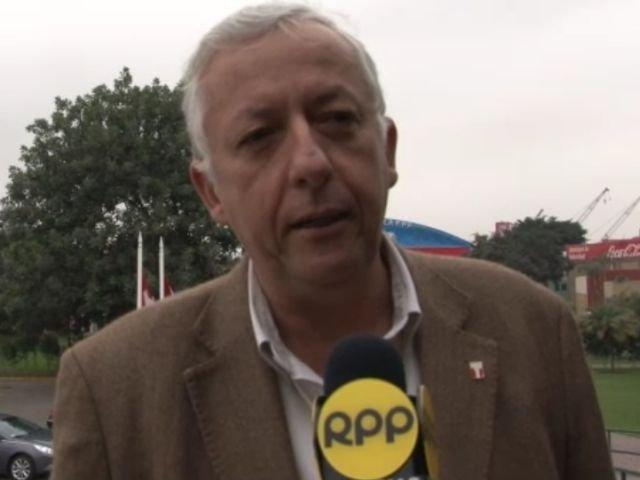 Antonio García Pye, gerente de selecciones de la FPF.