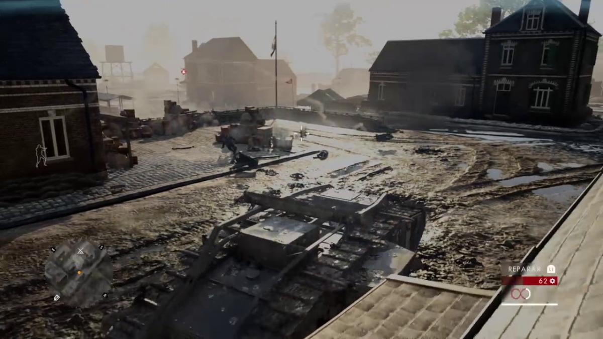Las misiones en las que debemos utilizar tanques son de las mejores en Battlefield 1.