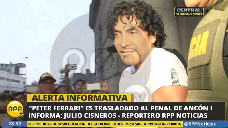 'Peter Ferrari' es investigado por el presunto delito de lavado de activos proveniente de la minería ilegal.