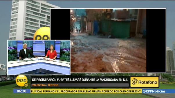Usuarios del Rotafono reportaron deslizamientos como consecuencia de las lluvias en el asentamiento humano Juan Pablo II.
