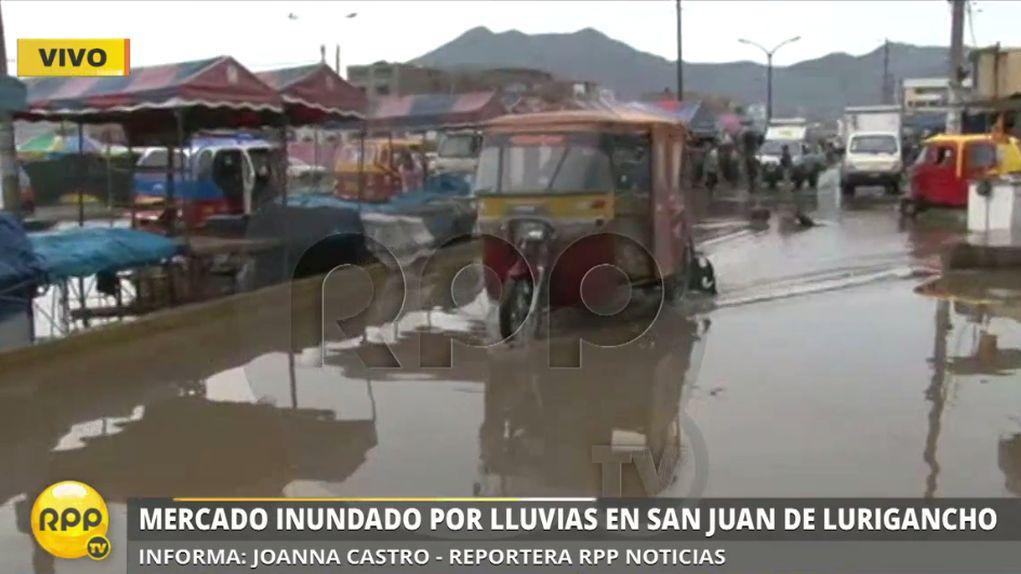 Así amaneció el mercado 1 de setiembre en San Juan de Lurigancho.