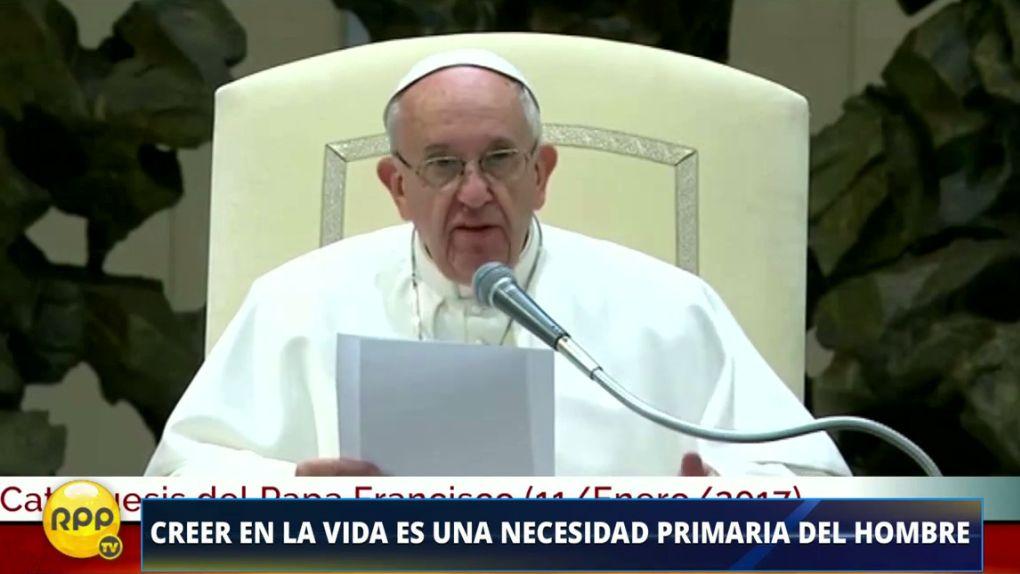 Escucha el mensaje del Papa Francisco de esta semana.