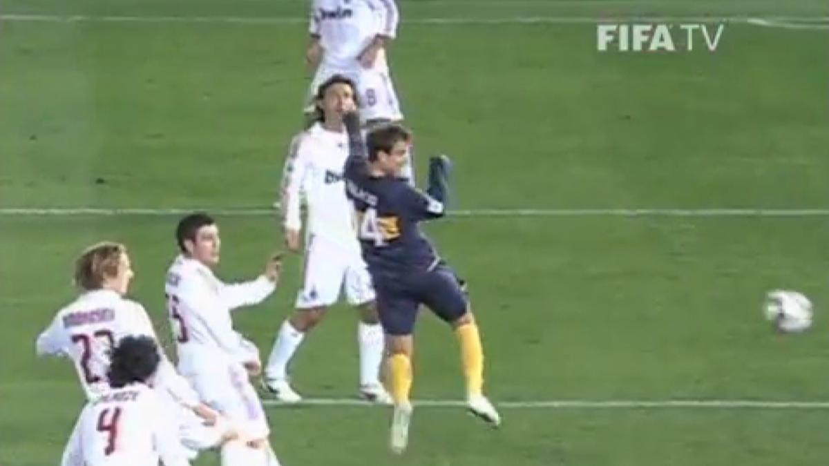 La final con más goles se dio en 2007. El AC Milan venció 4-2 a Boca Juniors.
