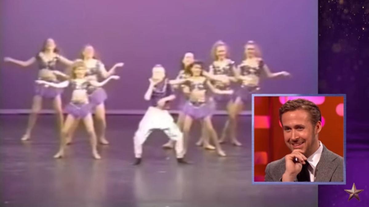 Sorprenden a Ryan Gosling con uno de sus videos de infancia.