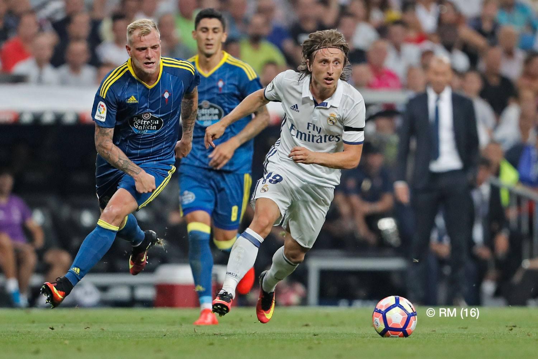 Último enfrentamiento entre Real Madrid y Celta de Vigo.