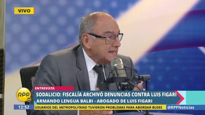 Armando Lengua Balbi respaldó el trabajo de la Fiscalía en el proceso seguido contra su defendido.