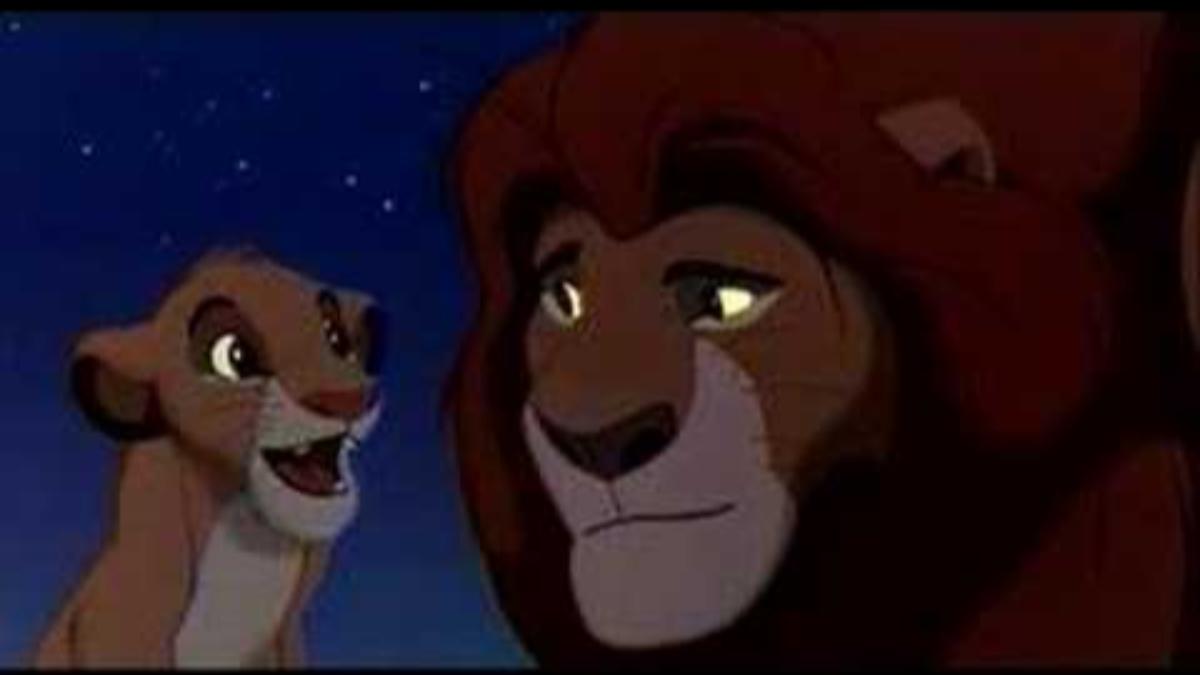 James Earl Jones interpreta a Mufasa en El Rey León