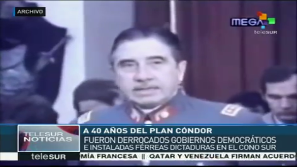 Los dictadores de Latinoamérica impulsaron el Plan Cóndor.