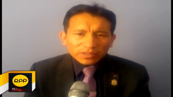 Regidor Luis Alberto Arana