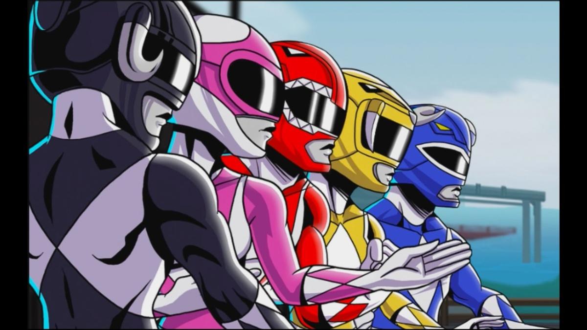 El videojuego de Bamtang Games es un beat 'em up basado en la primera generación de los Power Rangers.