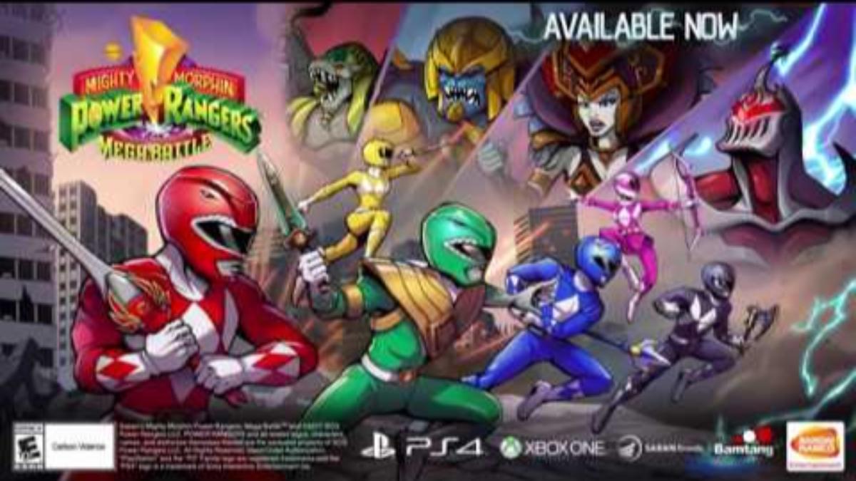 En este videojuego podremos invocar al poderoso Megazord para hacer frente a los enemigos de mayor tamaño.
