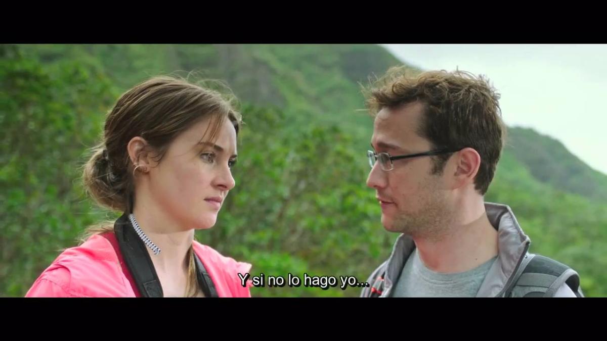 Oliver Stone hizo una película biográfica de Snowden en 2016.