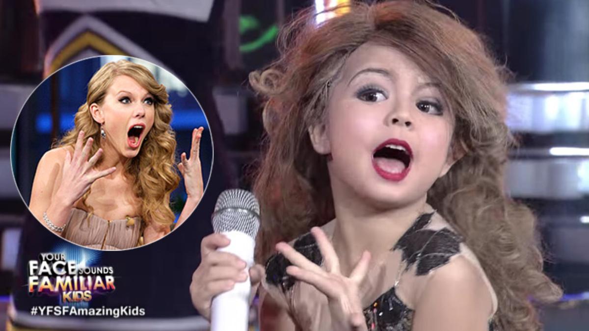 Xia Vigor es la pequeña imitadora de Taylor Swift.