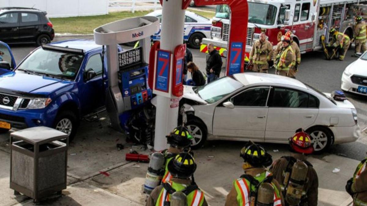 Manejaba drogada y causó una tragedia en una gasolinera de EE.UU.