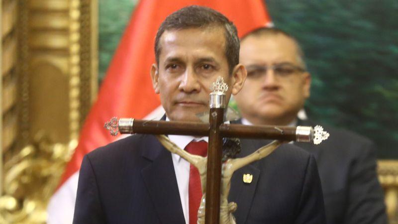 Para salir del país, Ollanta Humala debe pedir permiso al juez.