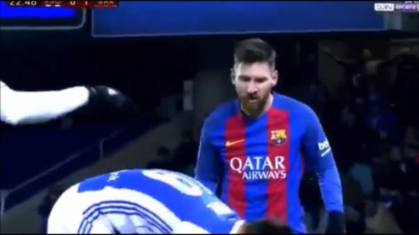 Lionel Messi anotó un gol en el triunfo por 5-0 del Barcelona a Las Palmas del pasado 14 de enero.