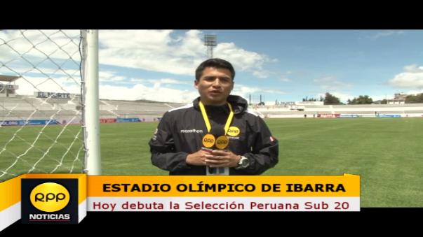 Juan Carlos Hurtado enviado especial de RPP Noticias al Sudamericano Sub-20