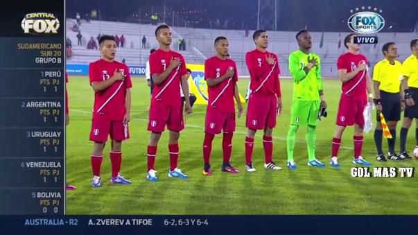 Revive aquí los goles del empate 1-1 entre Perú y Argentina.