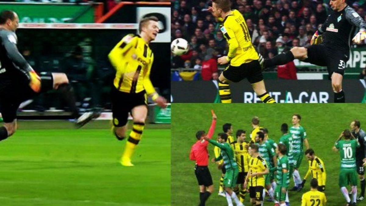 Marco Reus lleva 4 goles en la temporada con Borussia Dortmund.
