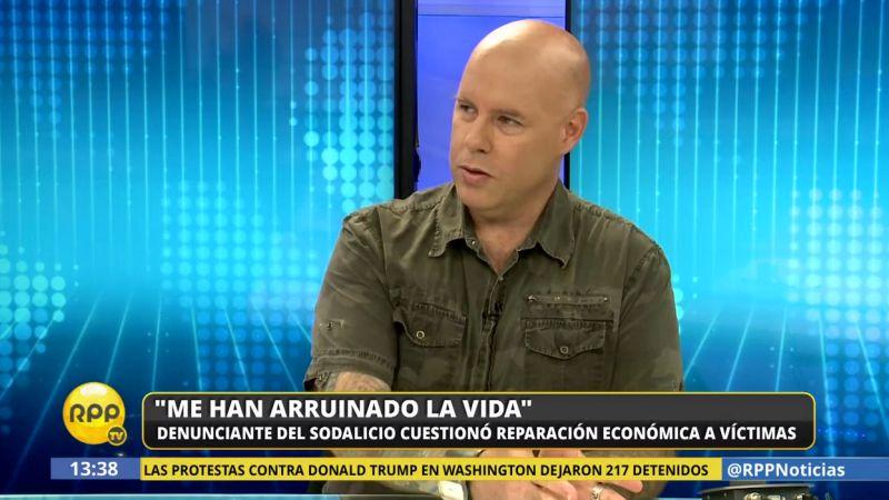 José Enrique Escardó consideró insuficiente el dinero que entregará el Sodalicio a las víctimas.