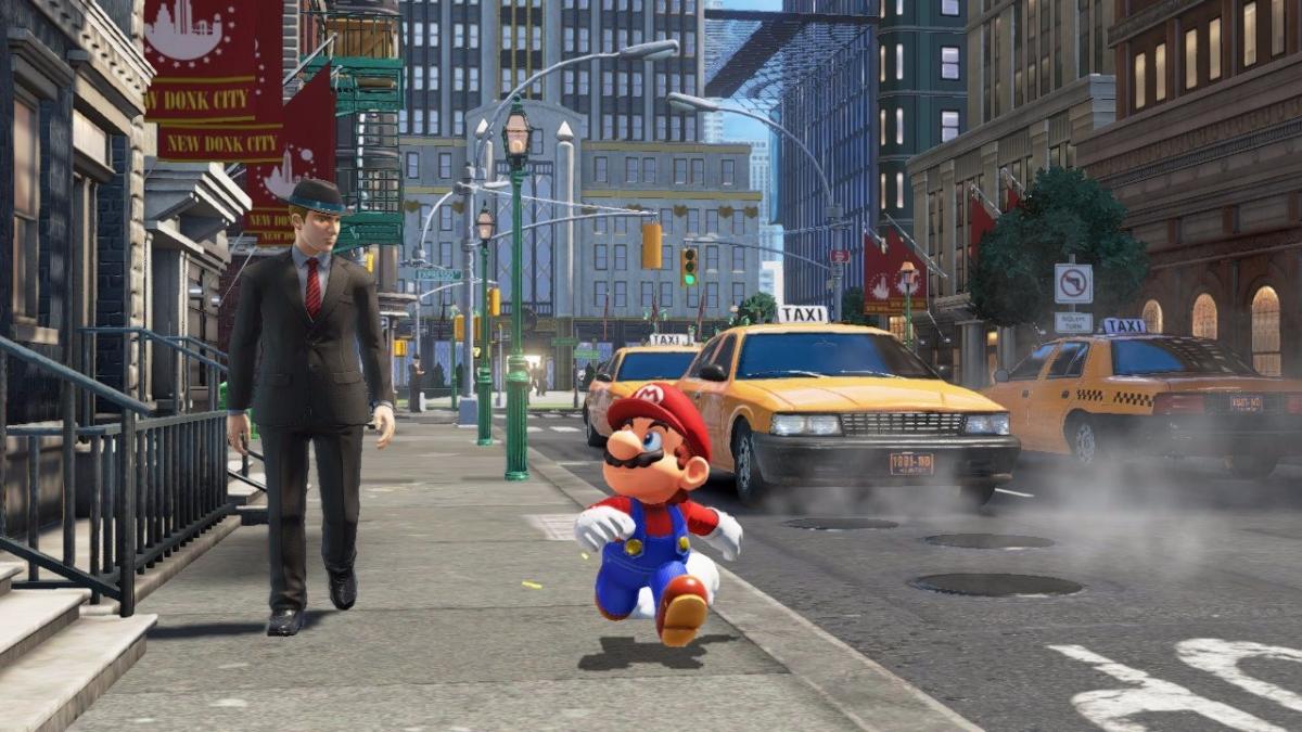 Super Mario Odyssey llegará en este 2017.