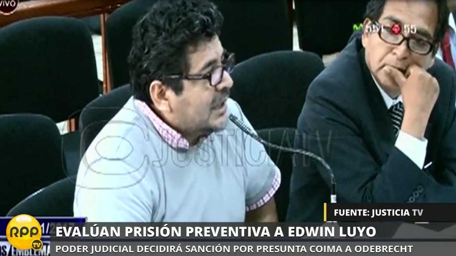 Luyo dijo ante el juez que su objetivo es