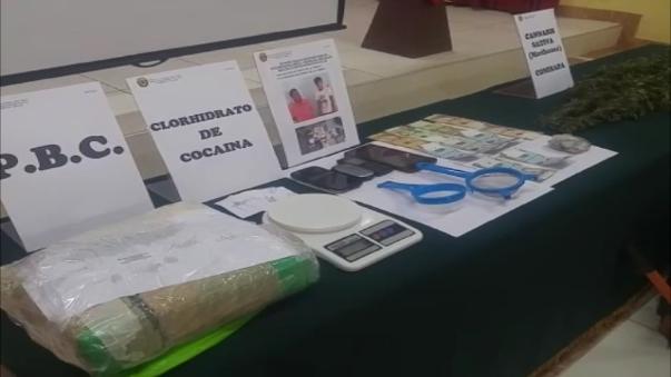 Incineran plantones de marihuana en Virú