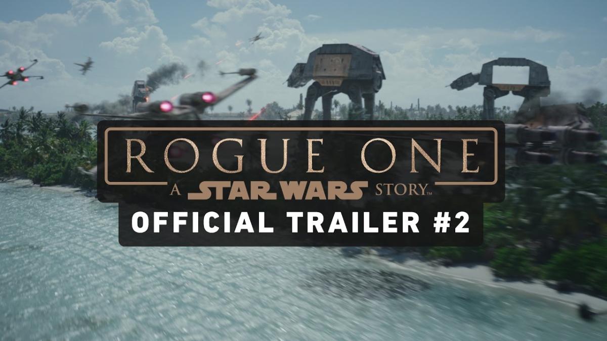 Este fue el segundo trailer (y el más espectacular) de Star Wars: Rogue One.
