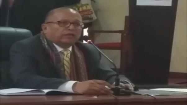 Ministro Gonzalo Tamayo