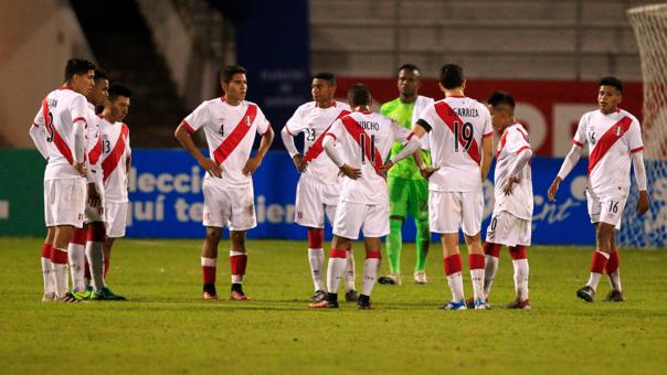 La Selección Peruana Sub 20 no pudo ganar ningún partido en el Grupo B del Sudamericano de Ecuador.
