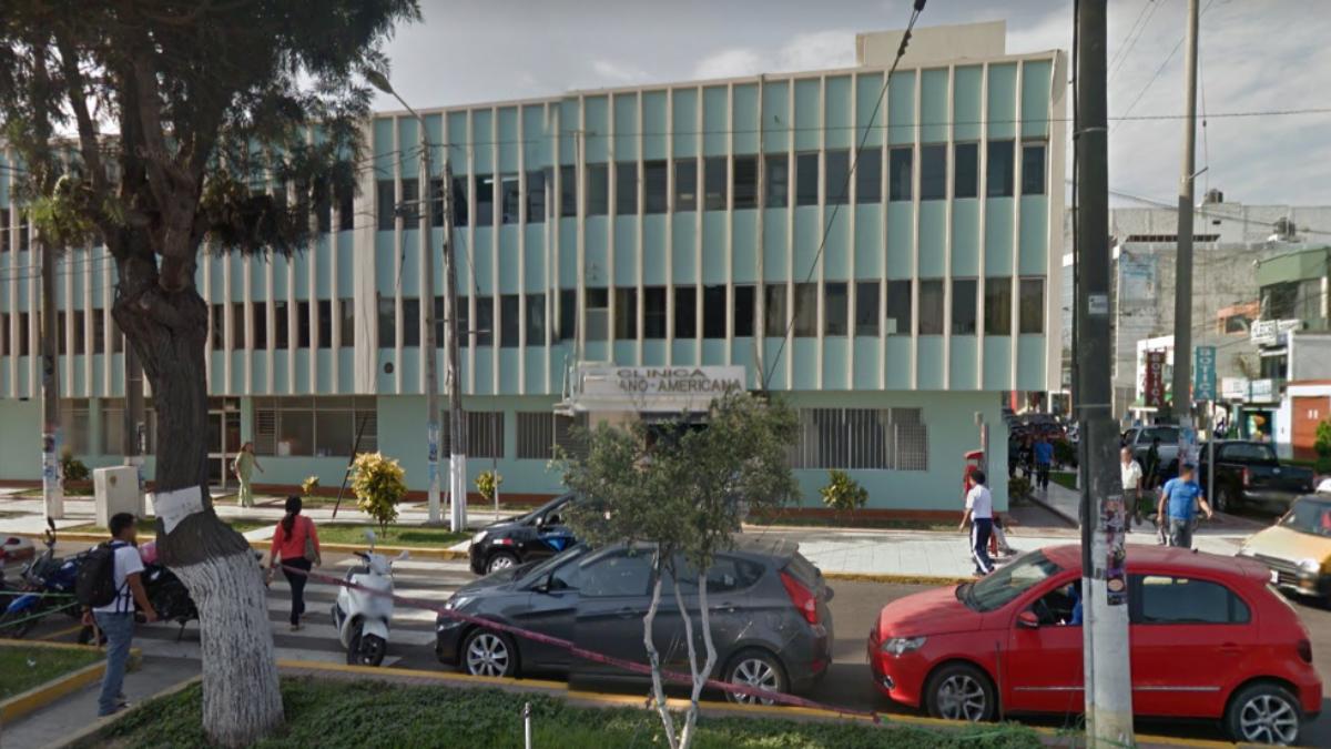 El hecho se produjo en la sede de la clínica Peruano Americana de Trujillo.