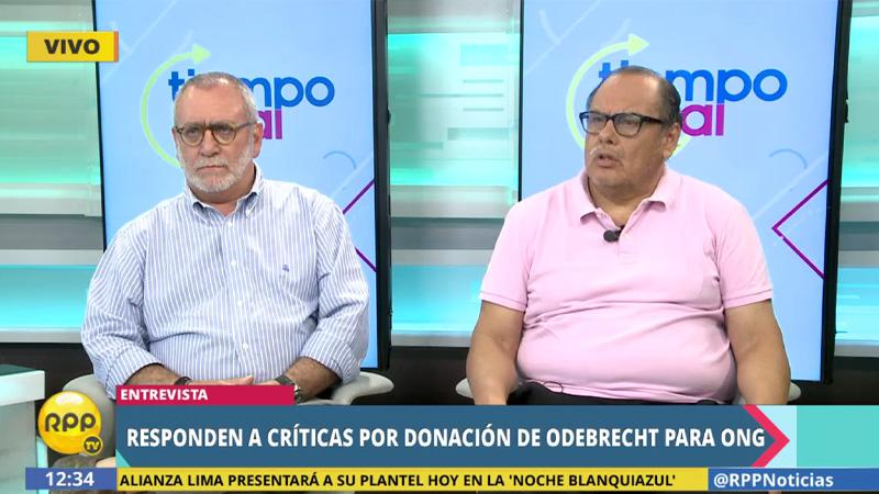Álvarez Rodrich y Ricardo Uceda responden a críticas por donación de Odebrecht a IPYS.