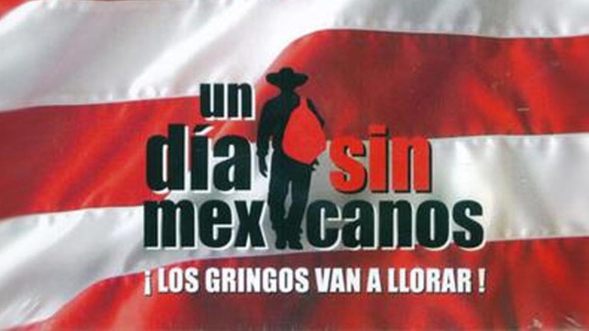La cinta trata acerca de una hipotética desaparición de todos los mexicanos de California.