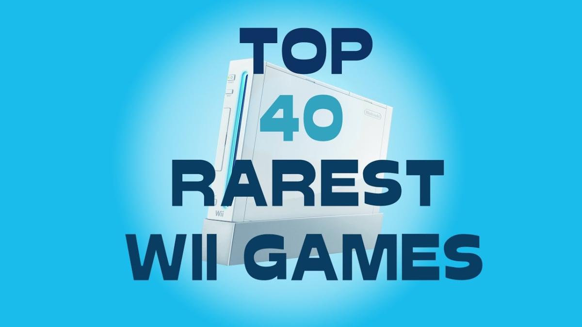 'NintendoTwizer' hizo un video con los 40 videojuegos más raros lanzados para Wii, que evidentemente tiene en su colección.