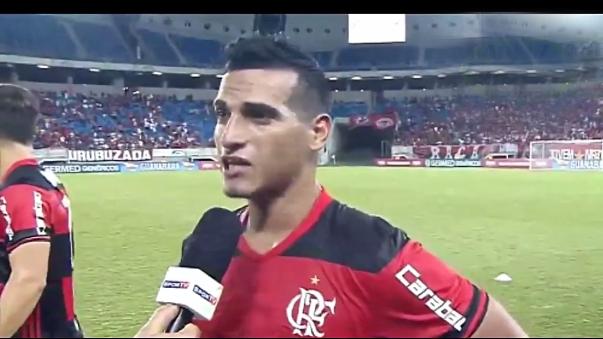 Miguel Trauco declaró tras la victoria 4-1 de Flamengo sobre Boavista.