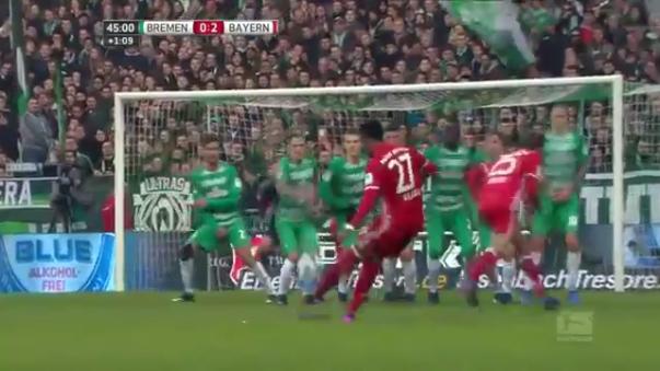 David Alaba tiene dos goles y cinco asistencias en la temporada 2016-2017 con Bayern Munich.