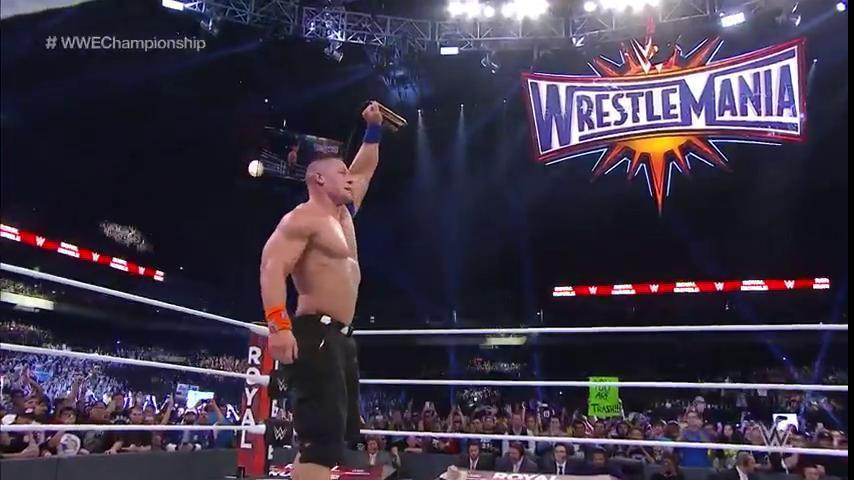 John Cena es el nuevo campeón de WWE.