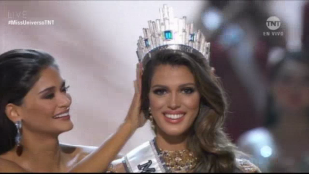 Iris Mittenaere se coronó como la Miss Universo 2016