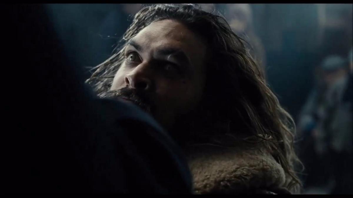 Aquaman hará su debut en la pantalla grande.