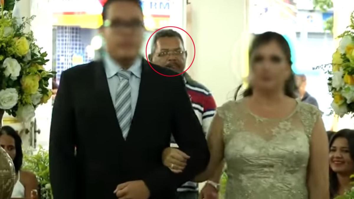 VIDEO: Hombre entra en una boda para asesinar a tres invitados